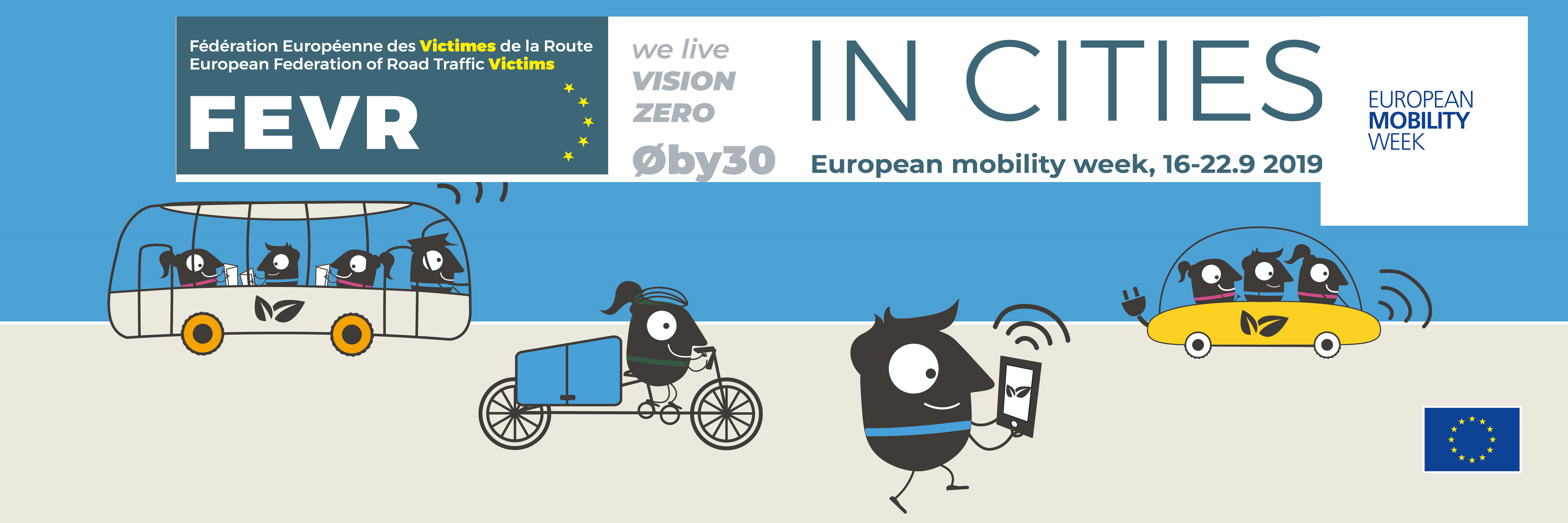 The project starts 3 weeks ahead of the European Mobility Week